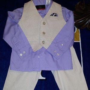 Boys linen suit